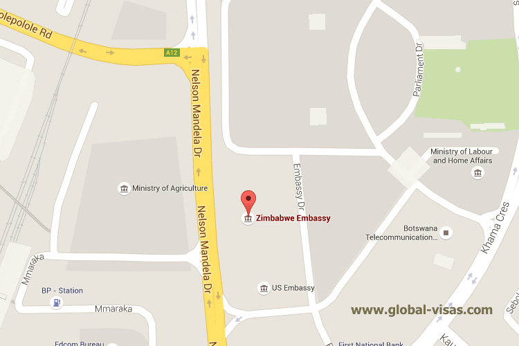Zimbabwe Embassy in Gaborone