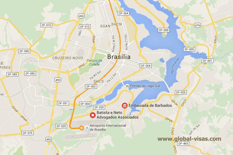 Zimbabwean Embassy in Brasilia
