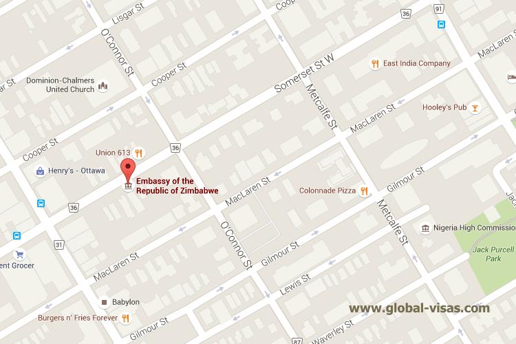 Zimbabwean Embassy in Ottawa