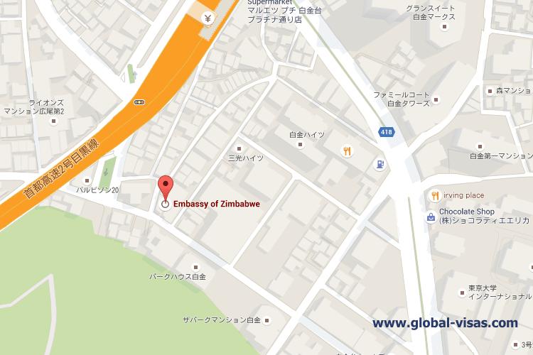 Zimbabwe Embassy in Tokyo