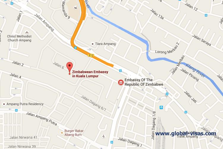 Zimbabwe Embassy in Malaysia