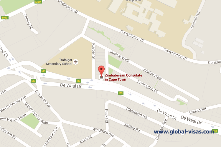 Zimbabwe Consulate in Cape Town